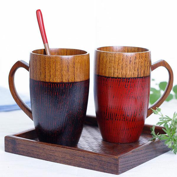 Red/black coffee mug