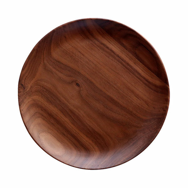 Walnut wooden plate 2 sizes