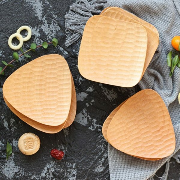 Square/triangle serving trays
