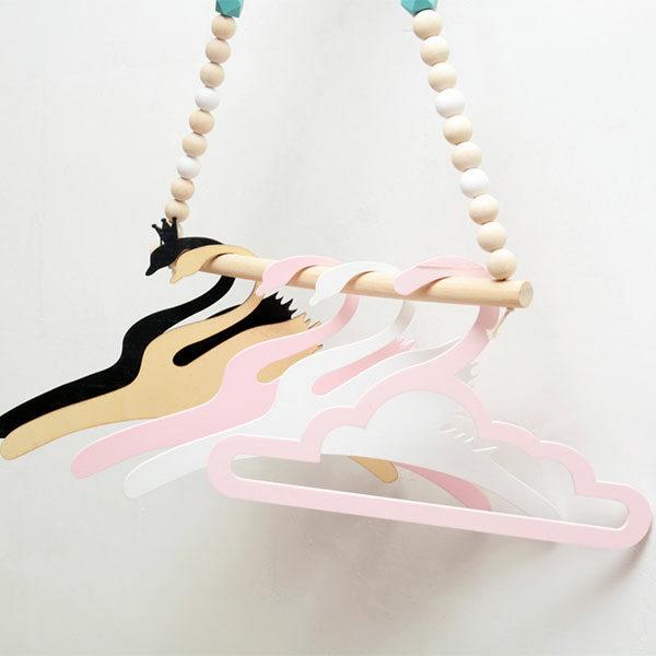 Swan, cloud & rabbit hangers
